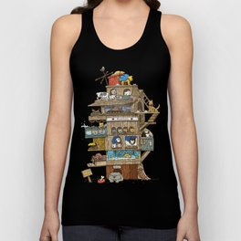 The Dog House Unisex Tank Top