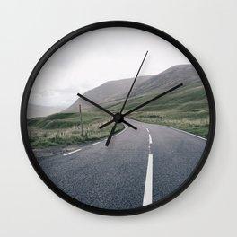 Scottish roadtrip Wall Clock