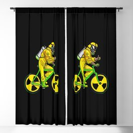 Radioactivity Bike Blackout Curtain