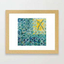 Abstract Art - XOs Framed Art Print