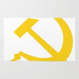 Hammer and Sickle USSR Communist Rug