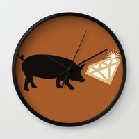 snatch Wall Clocks featuring Snatch by FilmsQuiz