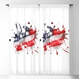Star Spangled Banner Blackout Curtain