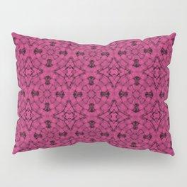 Pink Yarrow Geometric Pattern Pillow Sham