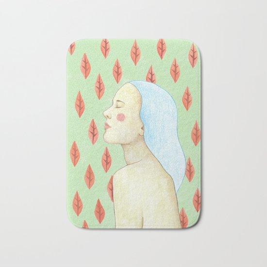 girl love portrait Bath Mat