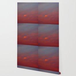 Red cloud shining at sunset Wallpaper