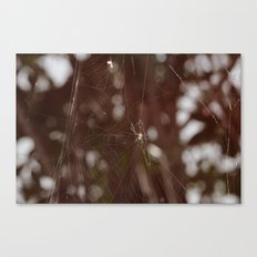 Forest weaving Canvas Print
