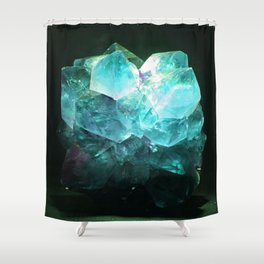 My Magic Crystal Story Shower Curtain