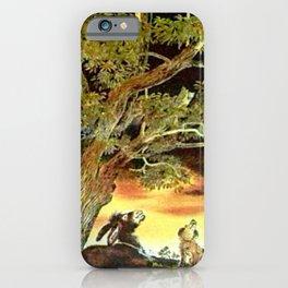 Le coq qui ne dort pas .... iPhone Case