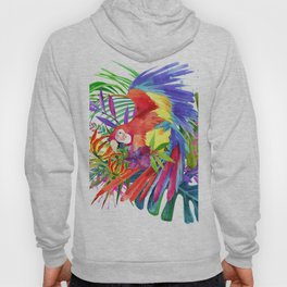 Tropical bird Hoody