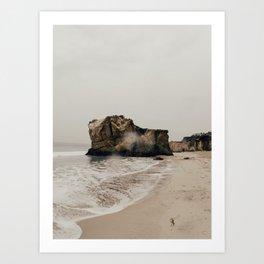 stormy / malibu, ca Art Print
