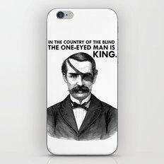 ONE-EYED KING  iPhone & iPod Skin
