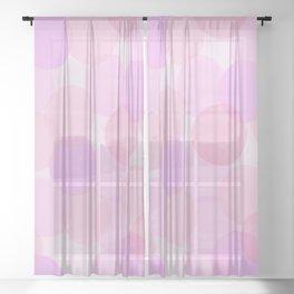 Colors of Cherry Blossom Season Sheer Curtain