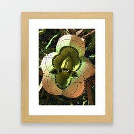 Cardboard Cutout Framed Art Print