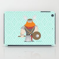 viking iPad Cases featuring Viking by valriquelme