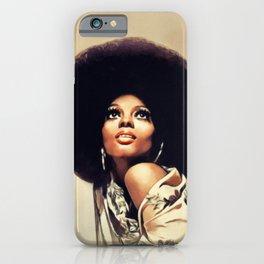 Diana Ross, Music Legend iPhone Case