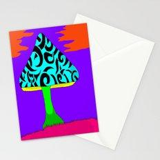 Fantasy Mushroom Stationery Cards