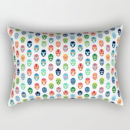 Lucha libre mask pattern Rectangular Pillow