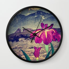 Evening Hues at Jiksa Wall Clock