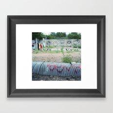 Castle Hill History Framed Art Print
