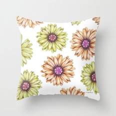 Fun With Daisy- In memory of Mackenzie Throw Pillow