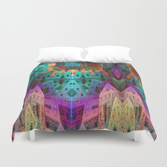 Eschertown Duvet Cover
