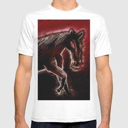 Phantom horse T-shirt