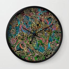 What goes inside my head Wall Clock