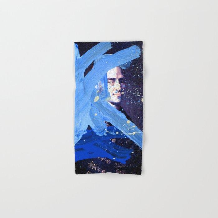 Blue Explosion Hand & Bath Towel