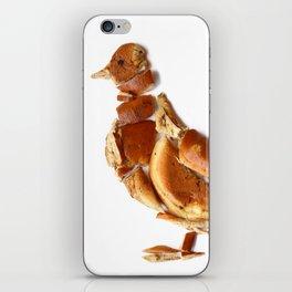 Pigeon Bagel iPhone Skin