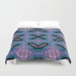 Victorian Art Deco Medieval Pattern colorful SB32 Duvet Cover
