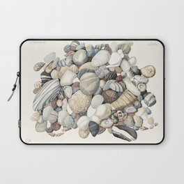 Sea shore of Crete Laptop Sleeve