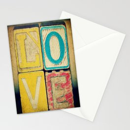 Old Love  Stationery Cards