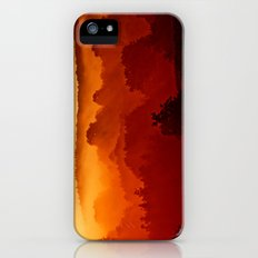 Mystical foggy morning iPhone (5, 5s) Slim Case