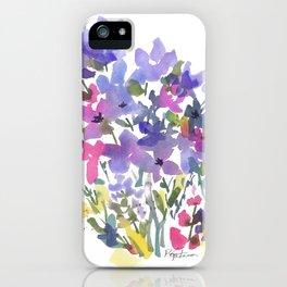 Little Fairy Field Flowers iPhone Case