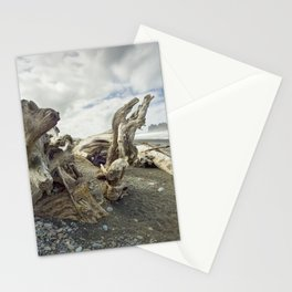 Driftwood on Rialto Beach No 0163 Stationery Cards