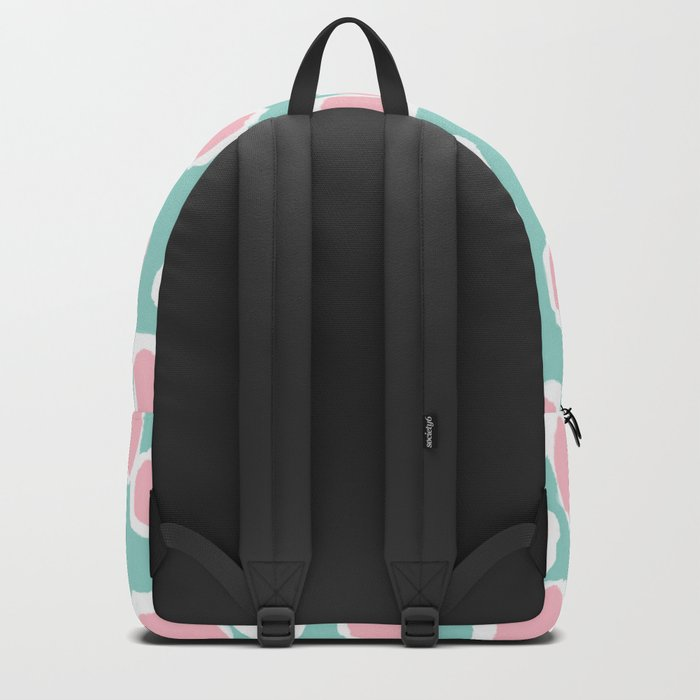 Hayden - abstract trendy gender neutral colorful bright happy dorm college decor pattern print art Backpack