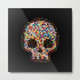 Spectrum Colors Arranged By Chance Metal Print