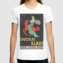 CHOCOLAT KLAUS FRENCH VINTAGE POSTER T-shirt