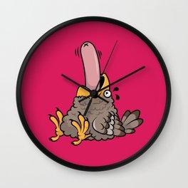 Glutton Bird Wall Clock