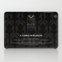 scandal iPad Cases featuring A Scandal in Belgravia by MacGuffin Designs