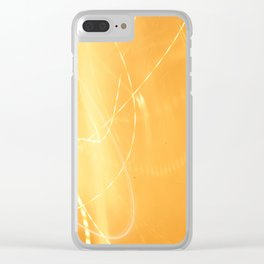 Familiar Lights Clear iPhone Case