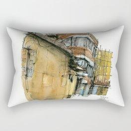 vintage city 17613 Rectangular Pillow