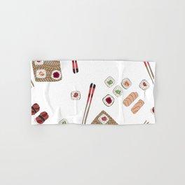 Japanese Sushi Hand & Bath Towel
