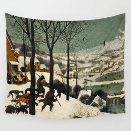 The Hunters in the Snow, Pieter Bruegel the Elder Wall Tapestry