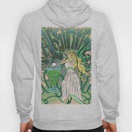 Art Nouveau Absinthe Poster Hoody
