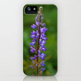 violet flower iPhone Case