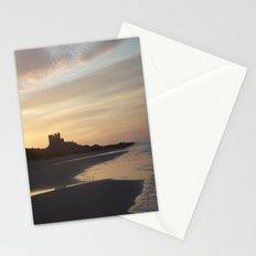 Bamburgh Sunset Stationery Cards