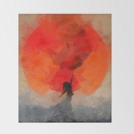umbrellaliensunshine: atomicherry spring! Throw Blanket
