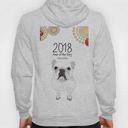 Year of the Dog - French Bulldog Hoody